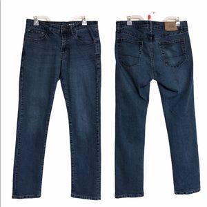 IZOD straight fit jeans 32x32 blue